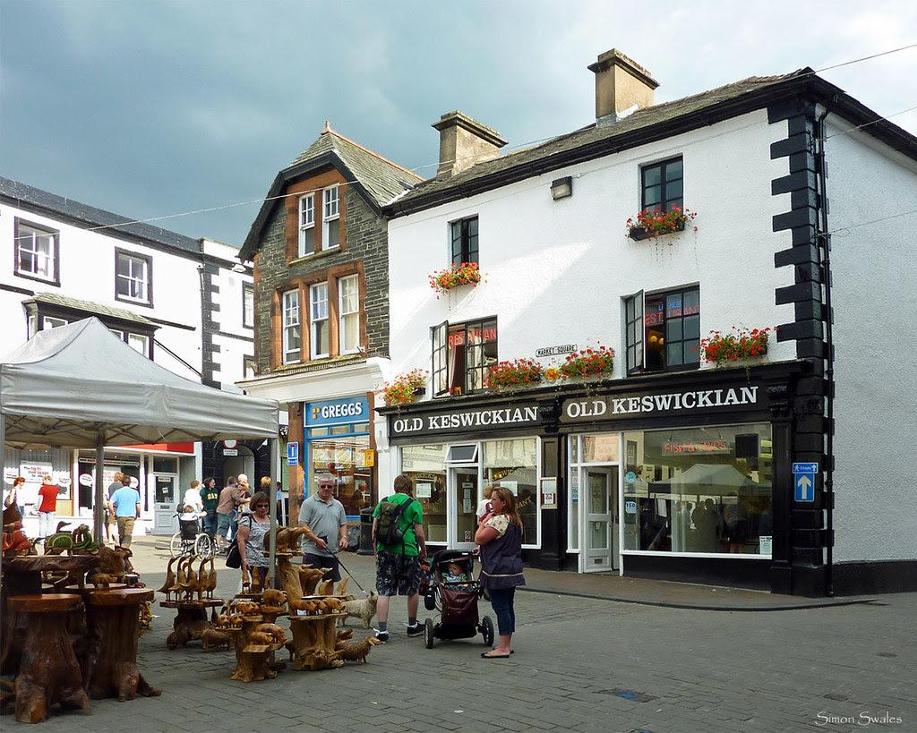 Market Square, Keswick, Cumbria
