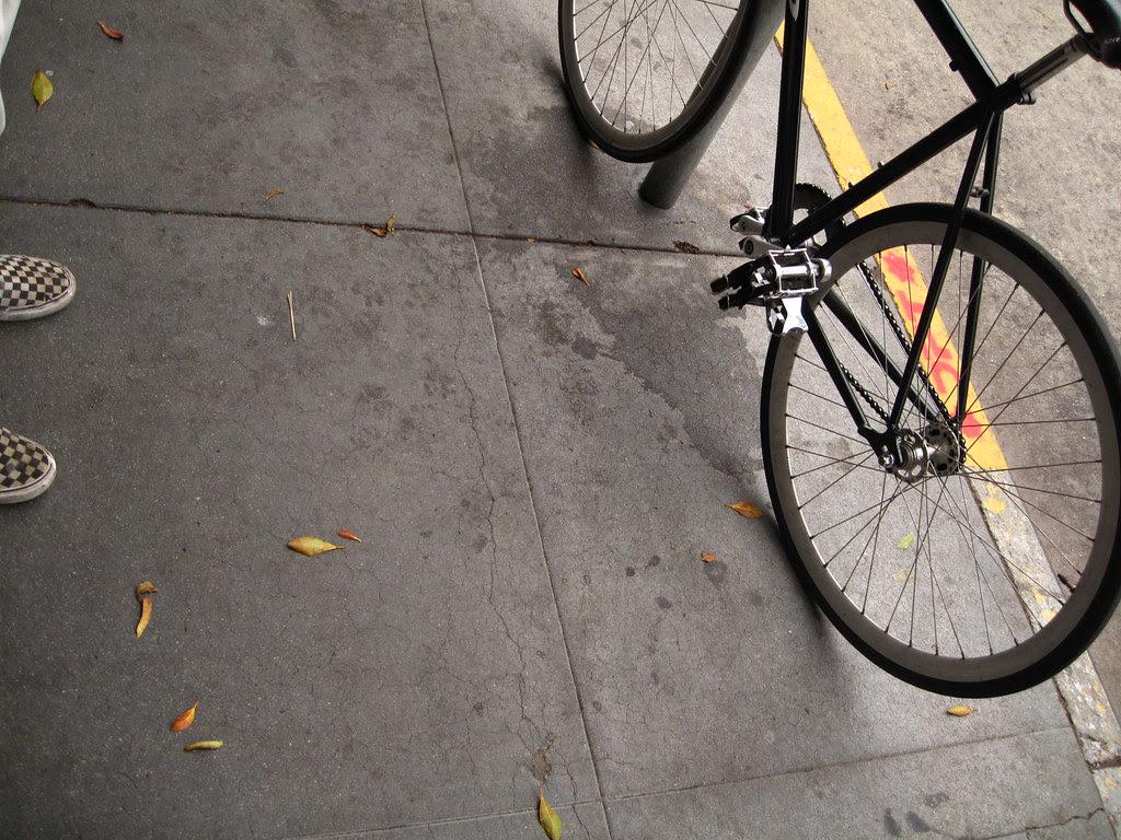 Not me, my bike.