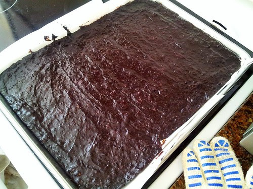 Cookie Sheet Brownies