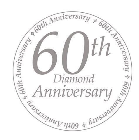 60TH ANNIVERSARY DECORATION