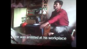 Deepak Dengle, of Kabir Kala Manch before his Arrest