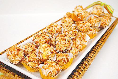 Pina Colada Cheesecake Truffles