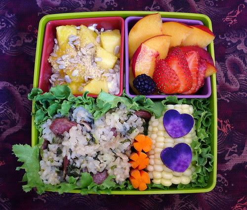 Sticky Rice Bento by sherimiya ♥