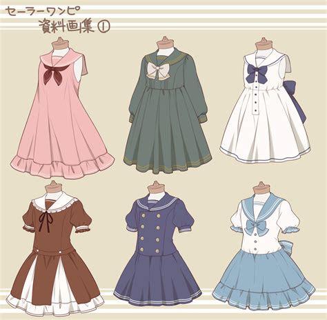 uniformes popular pinterest anime drawings  clothes