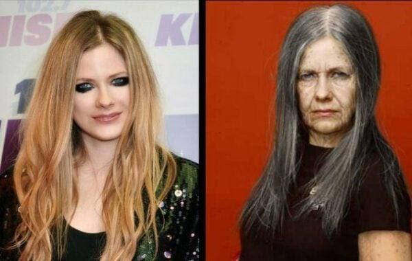 Como as celebridades vão ficar na velhice?