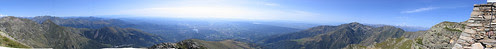 Panorama dal Monte Mucrone