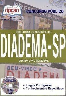 Apostila Prefeitura de Diadema Guarda Civil Municipal.