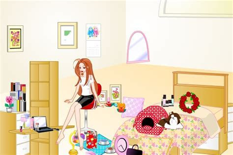 Barbie Bedroom Makeover Game   Decorating games   Games Loon
