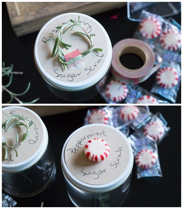 Sugar Scrub Caddy : Three homemade gifts with pretty packaging from The Container Store