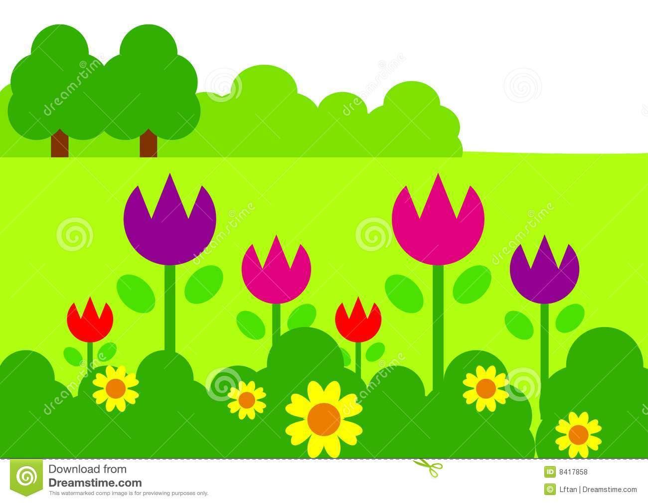 Amazing Free Clipart Garden For Your Inspiration Banyumasonline