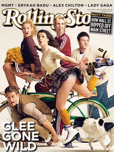 Glee, Rolling Stone April 2010