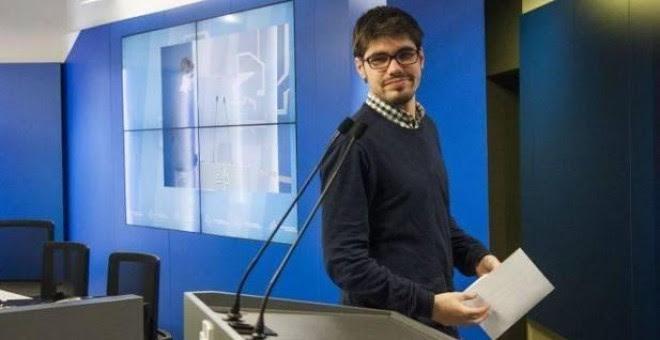 Lander Martínez, secretario general de Podemos Euskadi. EFE