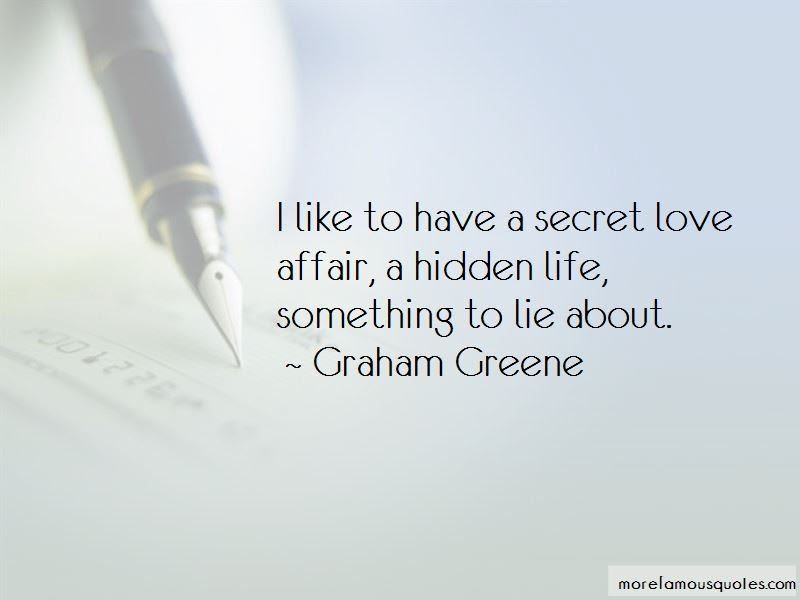 Hidden Love Affair Quotes Top 1 Quotes About Hidden Love Affair