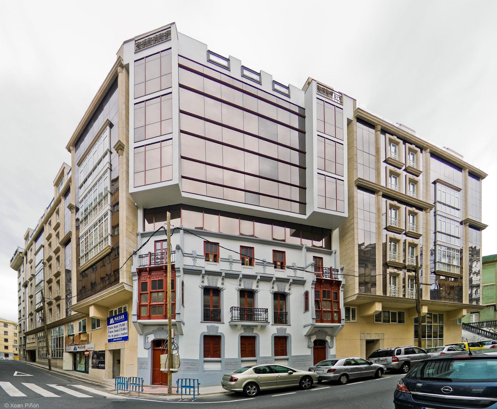 """Edificio modernista """"protexido"""""""