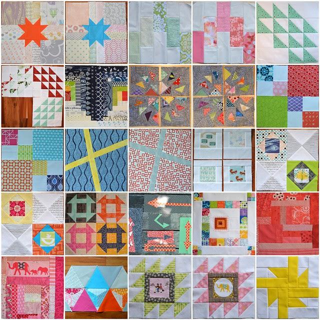 2013 Bee Blocks, set 1 of 2