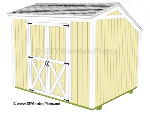 Shed with Loft Plans