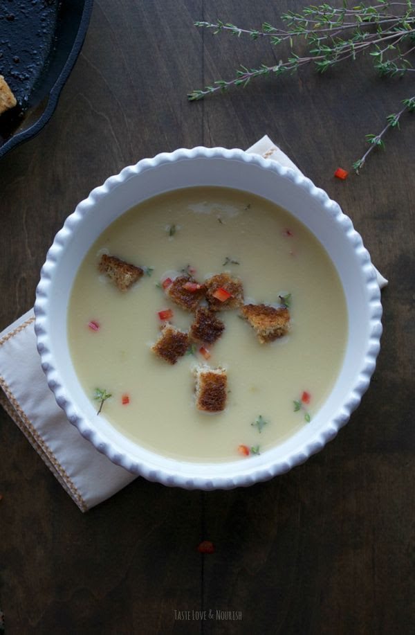 Bu çorba çok kremsi ve lezzetli, ama bu yağ aslında çok hafif ve düşük biliyorum asla!