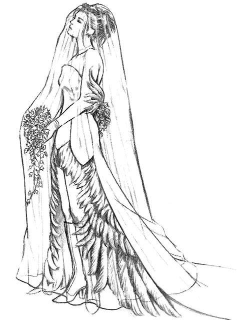 Week 10   Final Fantasy X   Concept Art Mon   Yuna Wedding