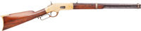 Long Guns:Lever Action, Inscribed Winchester Second Model 1866 Saddle Ring Carbine...