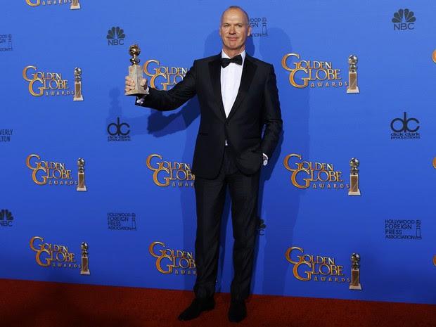 Michael Keaton venceu o Globo de Ouro de melhor ator de comédia ou musical. (Foto: REUTERS/Mike Blake)