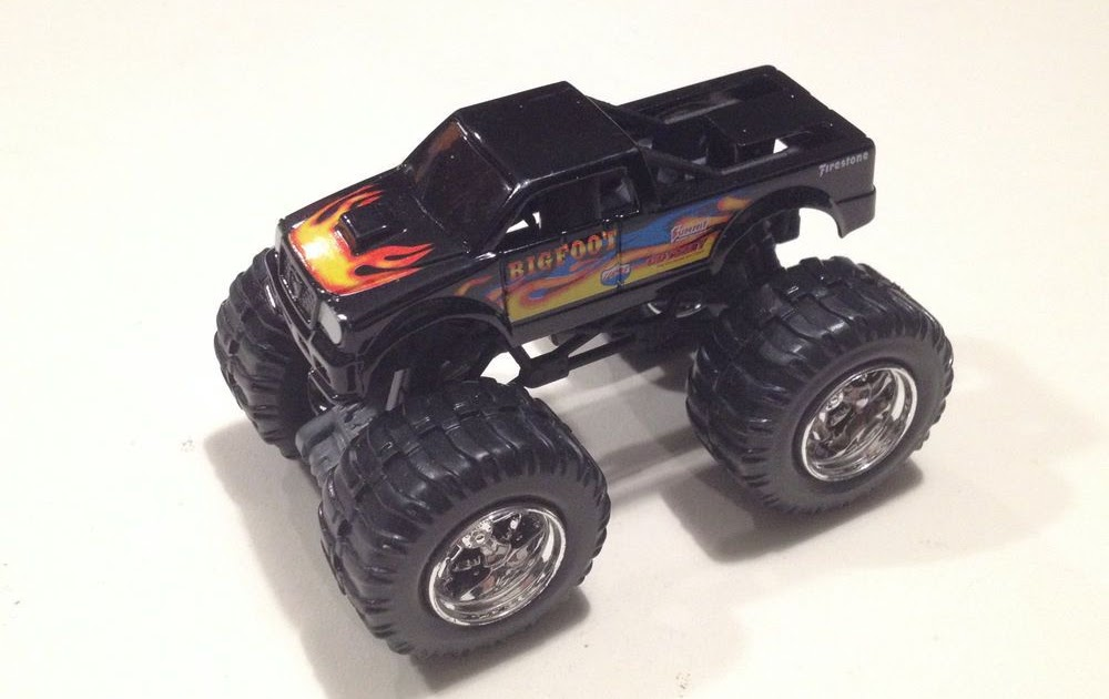 Bigfoot Monster Truck Toys Monster Truck Time