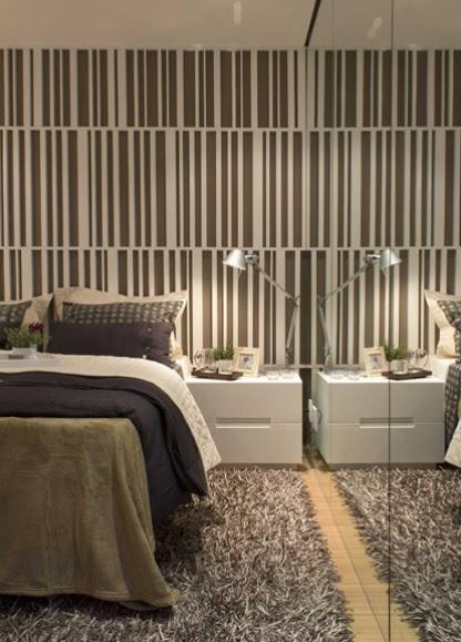 Os espelhos podem ser incorporados tanto nas paredes como nos móveis para complementar a decoração e ajudar a aumentar a amplitude dos cômodos. Veja 10 dicas sobre como usá-los no WebCasas: http://www.webcasas.com.br/revista/materia/decoracao/202/10-dicas-para-decorar-com-espelhos/
