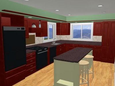 10k Kitchen Remodel Kitchen Plan
