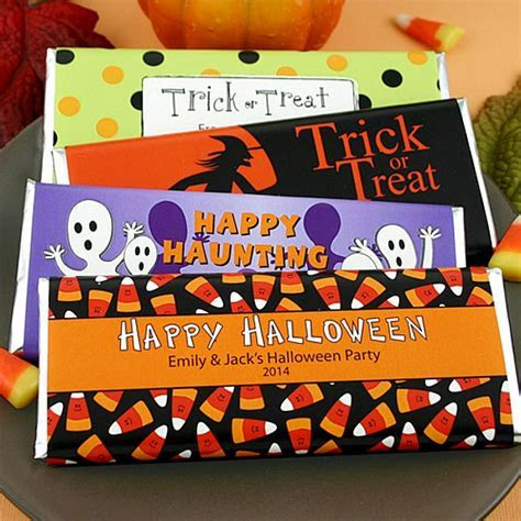 Personalized Halloween Hershey's 1.5 oz Candy Bar Wrappers