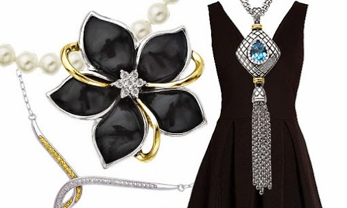 little black dress accessories