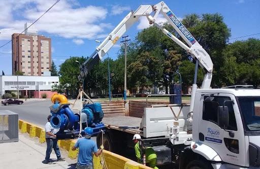 Aguas Rionegrinas asegura que se normaliza el servicio en la zona norte de Roca