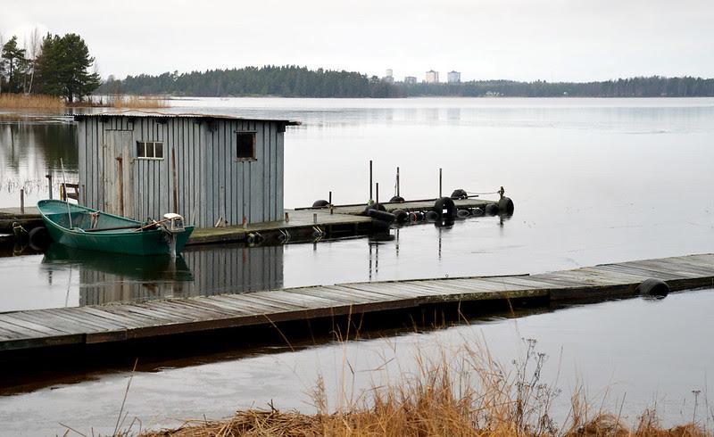 19 brygga båt hus
