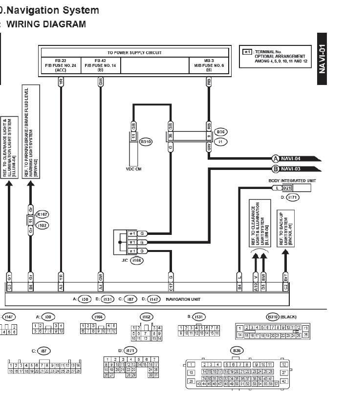 Subaru Forester Radio Wiring Diagram