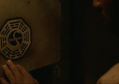 LOST,  Mr. Eko examines DHARMA INITIATIVE swan...
