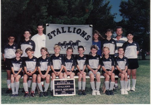 Soccer 1991 Team Picture