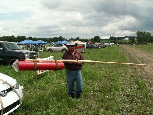 Ken Zeuner's Chinese bottle rocket
