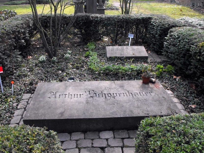 Arthur Schopenhauer tumba