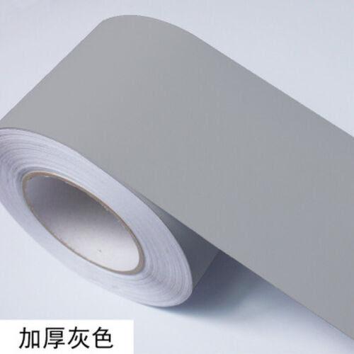 Wallpaper Rolls Sheets New Self Adhesive Wall Skirting Border Vinyl Wallpaper Waterproof Decor Grey Uk Home Furniture Diy