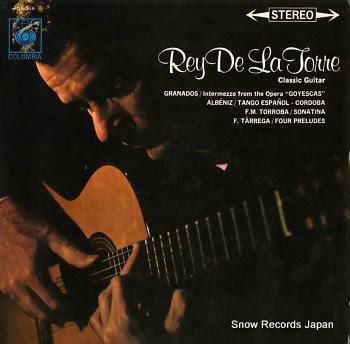 TORRE, REY DE LA guitar recital