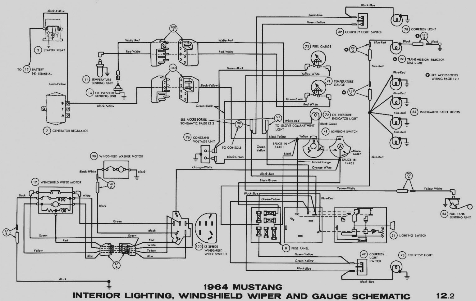 72 Chevy Wiper Wiring Diagram