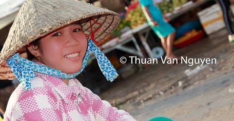 Vietnam || Thu 3-An Bien Village Market || Kien Giang Province