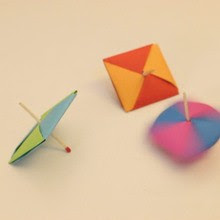 Spinning Top Craft craft for kids