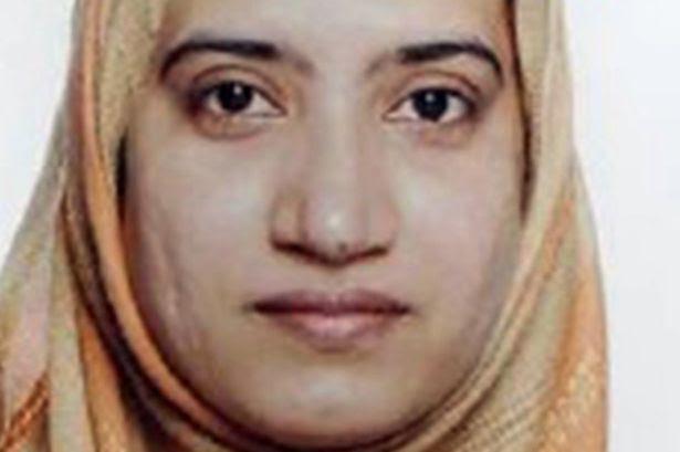 Tashfeen Malik of San Bernardino seen in her visa application