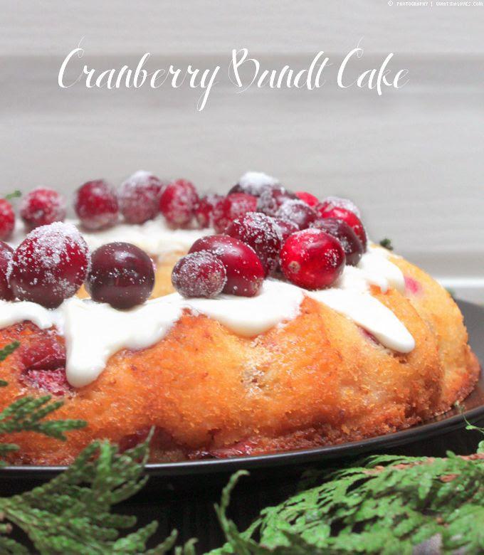 Kuchen frischen Cranberries Rezept Backen