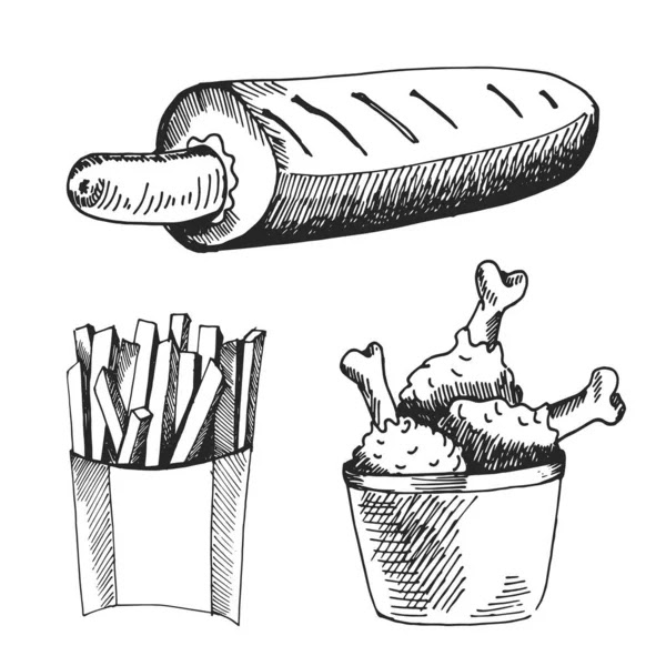 mewarnai gambar paha ayam goreng kaki ayam goreng stok