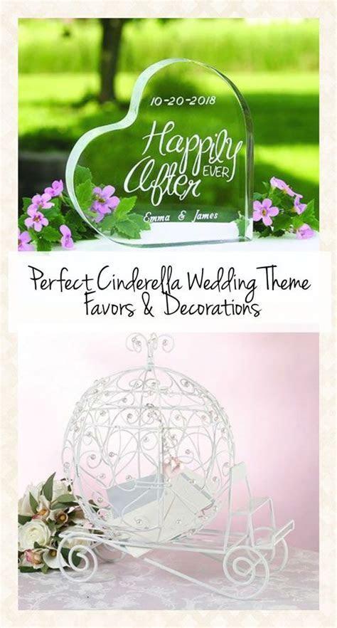 The Perfect Cinderella Wedding Theme Favors! www