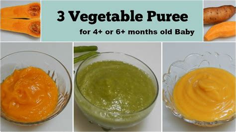 vegetable puree     months baby  healthy baby