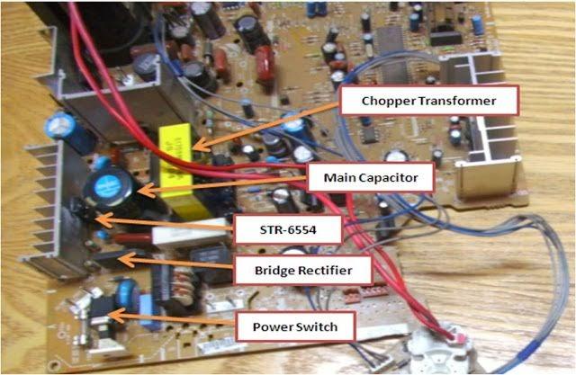 Circuit Diagram For Lg Crt Tv
