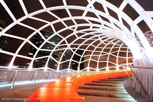 Melbourne, Australia :: Webb Bridge by -yury-