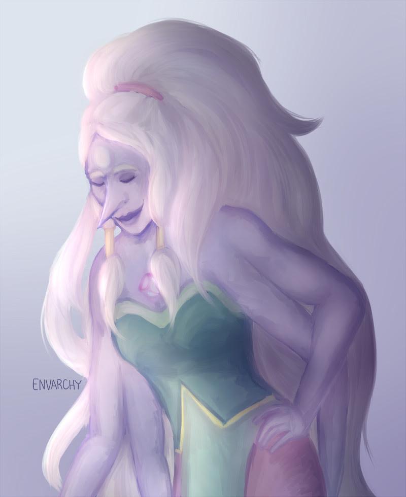 Pearlmethyst Week Day 7: Opal Never lose hopal, my friends @fuckyeahpearlmethyst