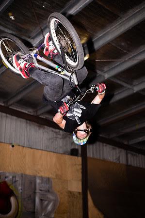 Brandon Vannee - ExpressiveBikes - Inspired Trials Expression Weekend 2012; Geebung, Brisbane, Queensland, Australia; 01 September 2012. Camera 1, Photos by Des Thureson - http://disci.smugmug.com. - Aerial.